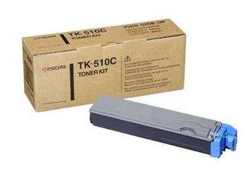 Toner Kyocera TK510C, cyan, 8000str., Kyocera Mita FS-C5020N