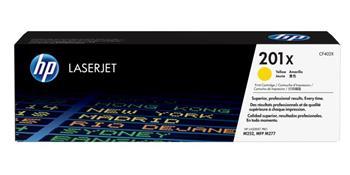 Toner HP CF402X (201X), yellow, 2300str., pro HP Color LaserJet MFP 277, Pro M252, 770g