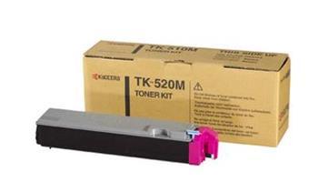 Toner Kyocera TK520M, magenta, 4000str., Kyocera Mita FS-C5015N