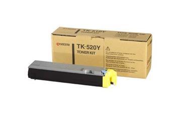 Toner Kyocera TK520Y, yellow, 4000str., Kyocera Mita FS-C5015N