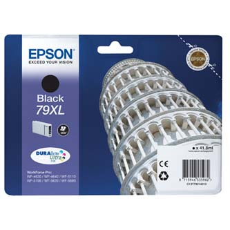 Epson C13T79014010, 79XL (věž), černý (black), 2600str., 42ml