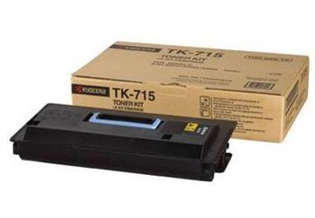 Toner Kyocera TK715, black, Kyocera Mita FS-3050, 4050, 5050