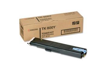Toner Kyocera TK800Y, yellow, 10000str., Kyocera Mita FS-C8008N