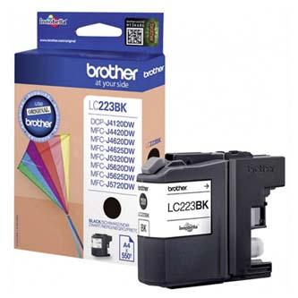 Brother originální ink LC-223BK, black, 600str., 1ks, Brother MFC-J4420DW, MFC-J4620DW