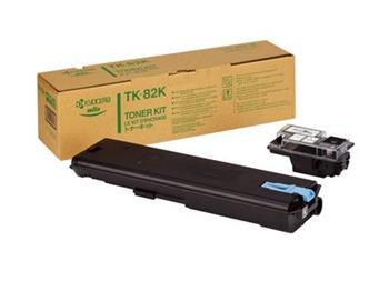 Kyocera TK-82, black, 25000str., Kyocera Mita FS-8000