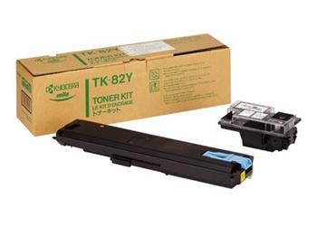 Toner Kyocera TK82, yellow, 10000str., Kyocera Mita FS-8000