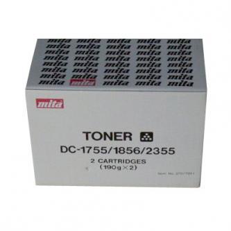 Toner Kyocera 37084010, black, Kyocera Mita DC-1755, 2x180g
