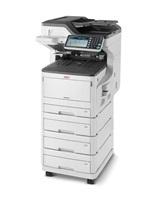 OKI MC853dnv - duplexní tisk, 4 zásobníky