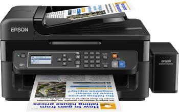 Epson L565 - Barevná inkoustová tiskárna, tankový systém, A4, WiFi, USB, ADF, 33 ppm