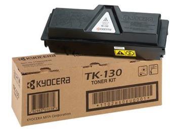 Toner Kyocera TK130, black, 7200str., 0T2HS0EU, Kyocera Mita FS-1300D, 1300N, 1350DN, 1028MFP, 1128MFP