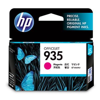 HP Ink Cart, C2P21AE, No.935, purpurová (Magenta) pro OJ Pro 6830, 400str.
