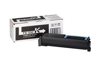 Kyocera Mita TK-550K - originální černý toner. Kyocera Mita FS-C 5200DN