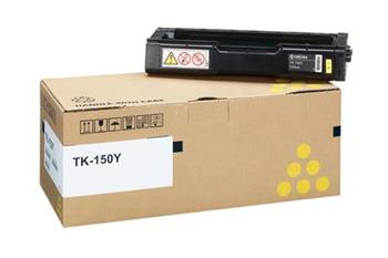 Toner Kyocera TK150Y, yellow, 6000str., Kyocera Mita FS-C1020MFP