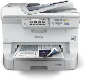 Epson WorkForce WF-8510DW - Barevná inkoustová multifunkce, oddělené náplně, USB, WiFi, LAN, A3+
