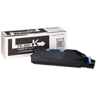 Toner Kyocera TK880K, black, 25000str., Kyocera Mita FS C8500DN
