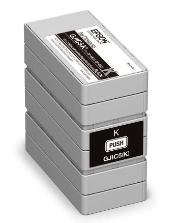 Epson S020563 - Originální černá inkoustová kazeta Epson GJIC5(K)