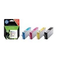 HP J3M82A - originální inkoustová náplň HP 364, multipack B,C,M,Y