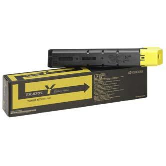 Toner Kyocera TK8705Y, yellow, 30000str., Kyocera Mita TASLalfa 6550I, 7550I