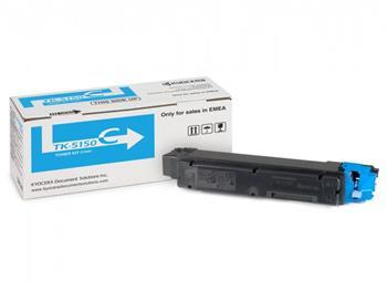 Toner Kyocera Mita TK-5150C, originální, azurový (cyan)
