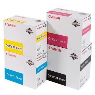 Toner Canon CEXV21 (0454B002) originální, purpurový (magenta), pro Canon iR-C2880, 3380, 3880, 260g, 14000str.