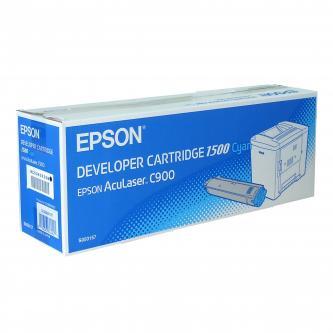 Toner Epson C13S050157 azurový (cyan), 1500str., Epson AcuLaser C900, 900N