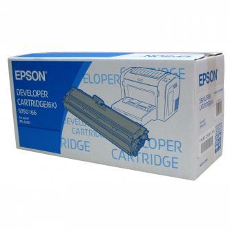Toner Epson C13S050166 černý (black), 6000str., Epson EPL-6200, 6200N, jde opravdu jenom do 6200