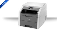 BROTHER multifunkce LED color DCP-9015CDW - A4, 18ppm, 192MB, 600x600copy, PCL, duplex, WiFi, 250listů,