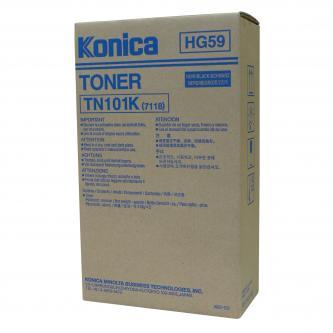 Konica Minolta TN-101K - originální toner 012A, black, 2x11000str., Konica Minolta 7115, 7118, 7216, 7220, 2x413g