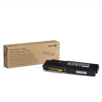 Toner Xerox 106R02235, yellow, 6000str., Xerox Phaser 6600, Workcentre 6605