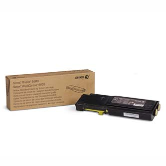 Toner Xerox 106R02251, yellow, 2000str., Xerox Phaser 6600, Workcentre 6605