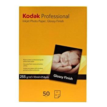 Kodak KPROA4G lesklý bílý fotopapír na roli A4, KPROA4G, 255 g/m2 pro inkoustové tiskárny