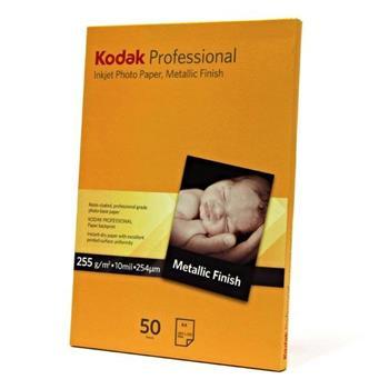 Kodak KPROA4MTL - fotografický bílý papír na roli, Metallic, A4, KPROA4MTL, 255 g/m2 pro inkoustové tiskárny