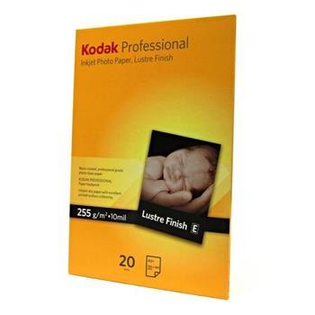 Kodak KPROA3+L - Profesionální fotopapír Lustre, papír, bílý, 255 g/m2, pro inkoustové tiskárny