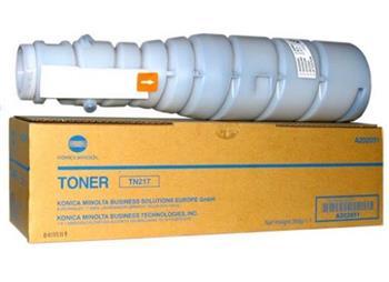 Toner Minolta TN217K, black, 17500str., A202051, Konica Minolta Bizhub C223/283, 512g