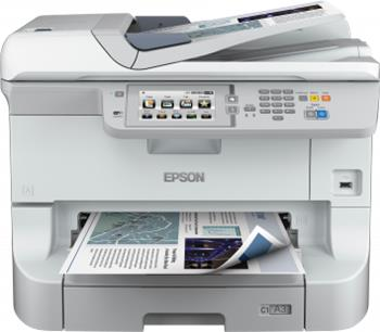 Epson WorkForce WF-8590DWF - Barevná inkoustová tiskárna, A3+, USB, WiFi, LAN