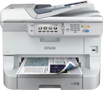Epson WorkForce WF-8590DTWF - Černobílá inkoustová multifunkce A3, USB, WiFi, LAN