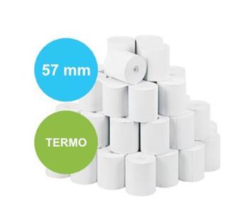 Pokladní termo kotoučky 57/40/12 (160 kusů v krabici)