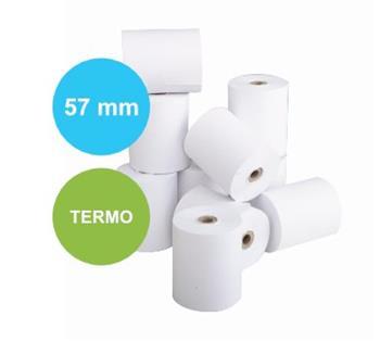 Pokladní termo-kotouček (pokladní páska) 57/50/12 mm 27 m (1 ks)