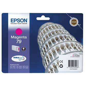 Epson originální ink C13T79134010, 79, L, magenta, 800str., 7ml, 1ks, Epson WorkForce Pro WF-5620DWF, WF-5110DW, WF-5690