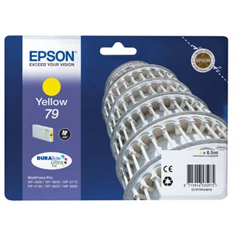 Epson originální ink C13T79144010, 79, L, yellow, 800str., 7ml, 1ks, Epson WorkForce Pro WF-5620DWF, WF-5110DW, WF-5690D