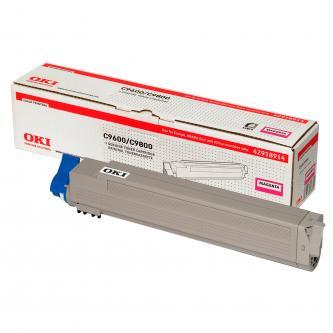 OKI toner 42918914, magenta, 15000str., pro C9600, C9800, C9650, C9850, MFP
