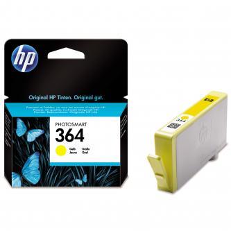 HP CB320EE - originální žlutý inkoust HP 364, 300 str. - expirovaný
