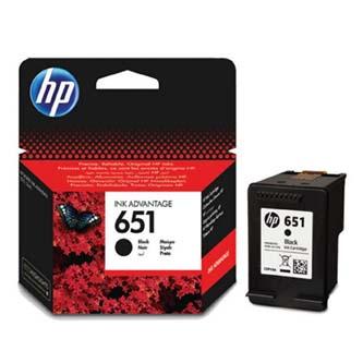 HP originální ink C2P10AE, No.651, black, HP DeskJet IA 5645, IA 5575