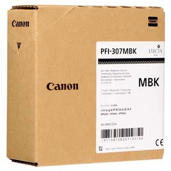 Canon originální ink PFI307MB, matte black, 330ml, 9810B001, Canon iPF-830, 840, 850