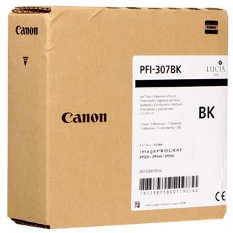 Canon originální ink PFI307BK, black, 330ml, 9811B001, Canon iPF-830, 840, 850
