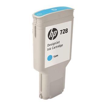HP728 300-ml Cyan InkCart