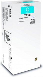 Epson T8392, C13T839240, XL, originální, cyan