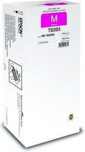 Epson T8393, C13T839340, XL, originální, magenta
