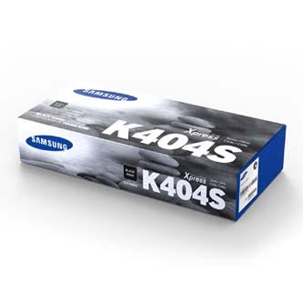 Samsung CLT-K404S - originální černý toner, HP SU100A, 1500str., Samsung Xpress C430W, C480FW, C480W