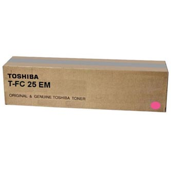 Toshiba originální toner TFC25EM, magenta, 26800str., Toshiba e-STUDIO 2040c, 2540c, 3040c, 3540c, 4540c